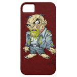Cartoon Zombie Business Man Art by Al Rio iPhone 5 Case