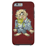 Cartoon Zombie Business Man Art by Al Rio iPhone 6 Case