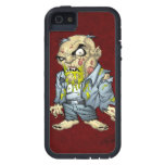 Cartoon Zombie Business Man Art by Al Rio iPhone 5 Cases