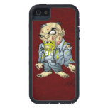 Cartoon Zombie Business Man Art by Al Rio iPhone 5 Cover