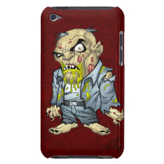 Cartoon Zombie Business Man Art by Al Rio iPod Touch Cover