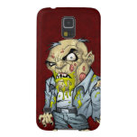 Cartoon Zombie Business Man Art by Al Rio Galaxy S5 Cases