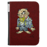 Cartoon Zombie Business Man Art by Al Rio Kindle 3G Cover