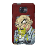 Cartoon Zombie Business Man Art by Al Rio Samsung Galaxy S2 Covers