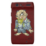 Cartoon Zombie Business Man Art by Al Rio Droid RAZR Cover