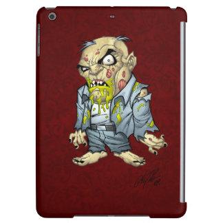 Cartoon Zombie Business Man Art by Al Rio iPad Air Cover