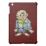 Cartoon Zombie Business Man Art by Al Rio Cover For The iPad Mini