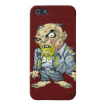 Cartoon Zombie Business Man Art by Al Rio iPhone 5 Covers