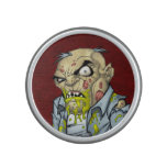 Cartoon Zombie Business Man Art by Al Rio Bluetooth Speaker