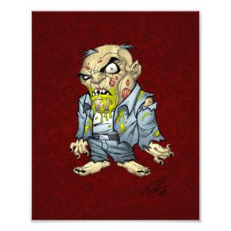 Cartoon Zombie Business Man Art by Al Rio Photo