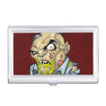 Cartoon Zombie Business Man Art by Al Rio Case For Business Cards