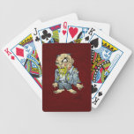 Cartoon Zombie Business Man Art by Al Rio Deck Of Cards