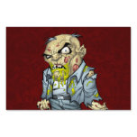 Cartoon Zombie Business Man Art by Al Rio Sign