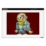 Cartoon Zombie Business Man Art by Al Rio Laptop Decals