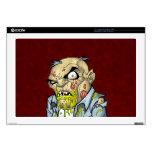"Cartoon Zombie Business Man Art by Al Rio 17"" Laptop Skins"