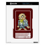 Cartoon Zombie Business Man Art by Al Rio Kindle 3 Skins