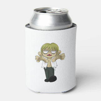 Cartoon Zombie Can Cooler