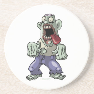 Cartoon Zombie Drink Coaster
