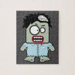 Cartoon zombie puzzle