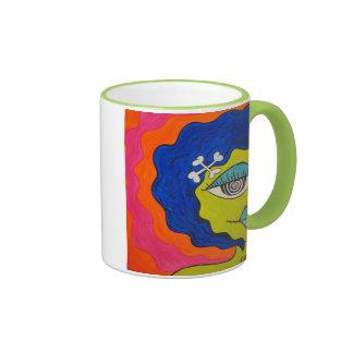 Cartoon Zombie Woman Coffee Mug