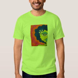 Cartoon Zombie Woman T-shirt