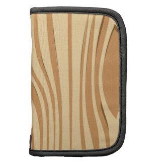 Cartooned Wood Texture Organizers