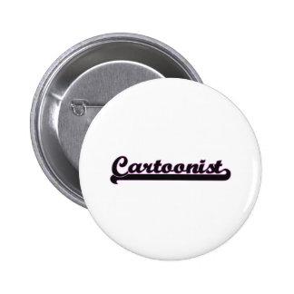 Cartoonist Classic Job Design 2 Inch Round Button