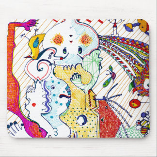 Cartoonist Drawings Fun Mousepad by Ginette