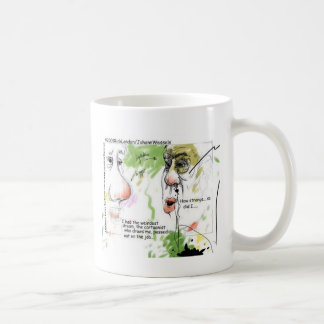 Cartoonist Passed Out Funny Gifts & Tees Coffee Mug