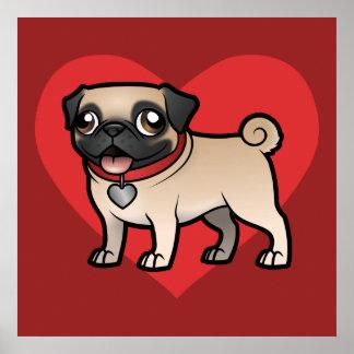 Cartoonize mi mascota impresiones
