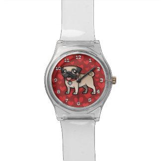Cartoonize mi mascota relojes de pulsera