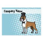 Cartoonize mi mascota plantilla de tarjeta de negocio