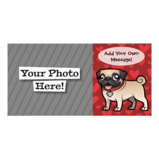 Cartoonize mi mascota tarjeta personal con foto