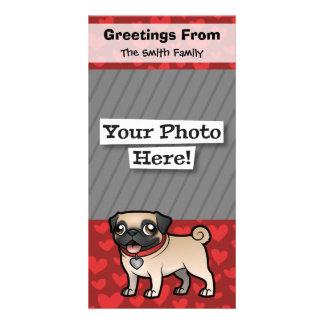 Cartoonize mi mascota tarjetas con fotos personalizadas