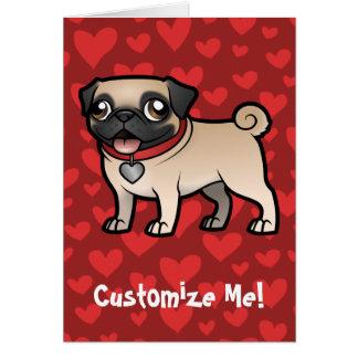 Cartoonize mi mascota tarjeta de felicitación