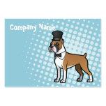 Cartoonize mi mascota tarjetas de negocios