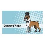 Cartoonize mi mascota tarjetas de visita