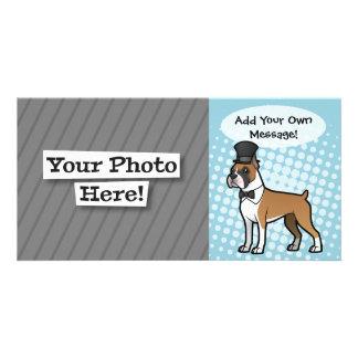 Cartoonize mi mascota tarjetas fotográficas personalizadas