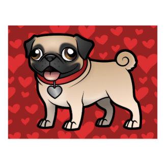 Cartoonize mi mascota tarjetas postales