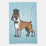 Cartoonize mi mascota toallas de cocina