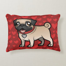Cartoonize My Pet Accent Pillow