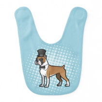 Cartoonize My Pet Baby Bib