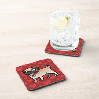 Cartoonize My Pet Beverage Coaster
