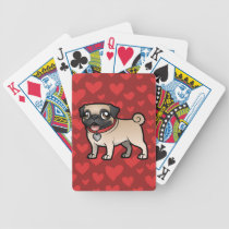 Cartoonize My Pet Bicycle Playing Cards