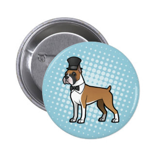 Cartoonize My Pet Pinback Button