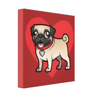 Cartoonize My Pet Gallery Wrap Canvas