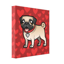 Cartoonize My Pet Canvas Print
