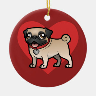 Cartoonize My Pet Ceramic Ornament