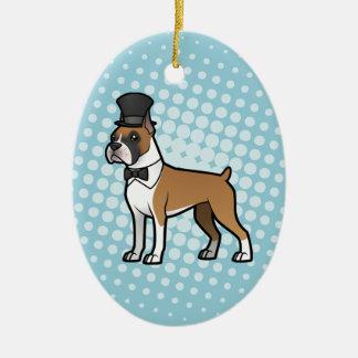 Cartoonize My Pet Ceramic Ornament