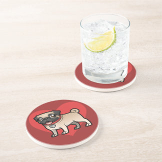 Cartoonize My Pet Coaster